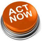Take action now and improve your magic - orange take action button small