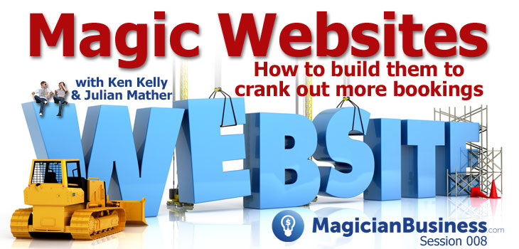 How To Build a Website for Magicians and Entertainers