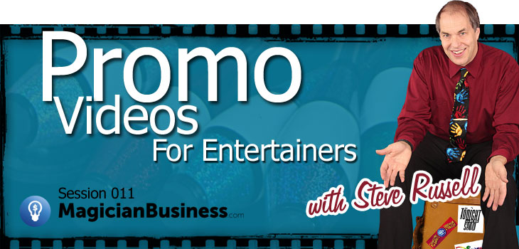 Promo Reels for Magicians and Entertainers
