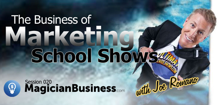 Joe Romano Marketing School Shows