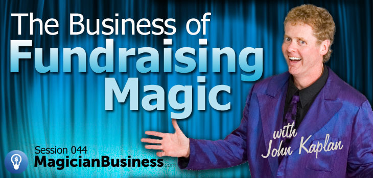 John Kaplan Magician Business Fundraising Magic