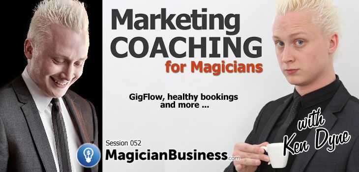052 Ken Dyne Gigflow Magician Business Podcast