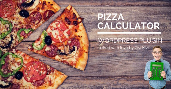 Pizza Calculator by Zivi Kivi Magician Business Special Offer